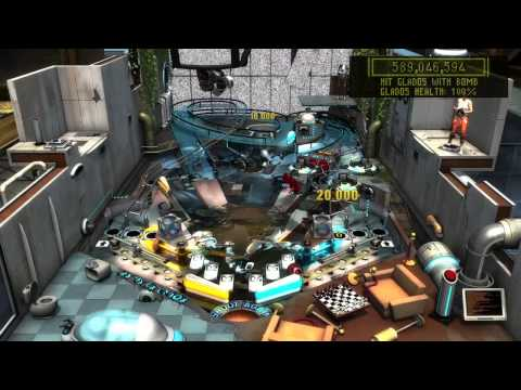 Zen pinball 2 - Portal (Glados Final Battle)