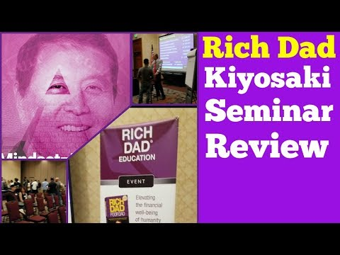 Rich Dad Education Event Review |  Seminar and Workshop by Robert Kiyosaki