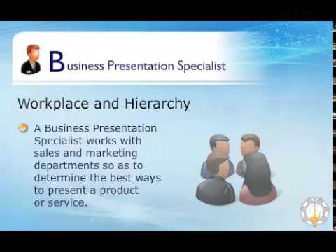 Business Presentation Specialist - Youtube