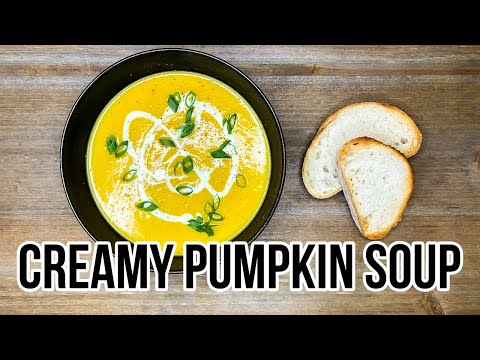 How To Make The Best Creamy Pumpkin Soup