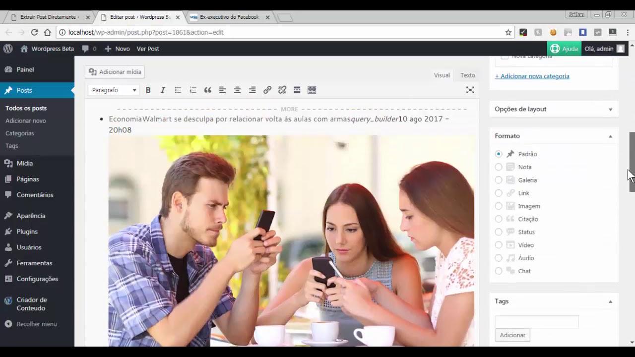 Download Como Extrair Artigos da Web Facilmente Usando a Função Extrator do Criador de Conteúdo Automático