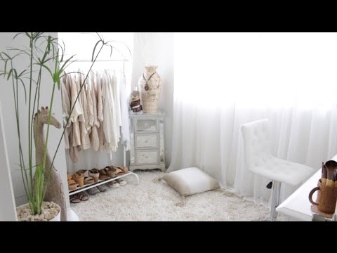 Room Tour Closet Makeup Storage Organization Youtube