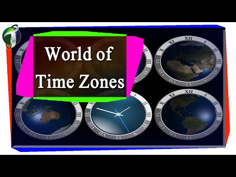 World Time Zones Urdu Hindi