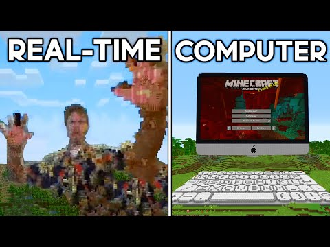 Minecraft's Most Mind-Blowing Inventions... - Sipover