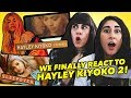 WE FINALLY REACT TO HAYLEY KIYOKO 2! (Curious, Sleepover & Feelings)