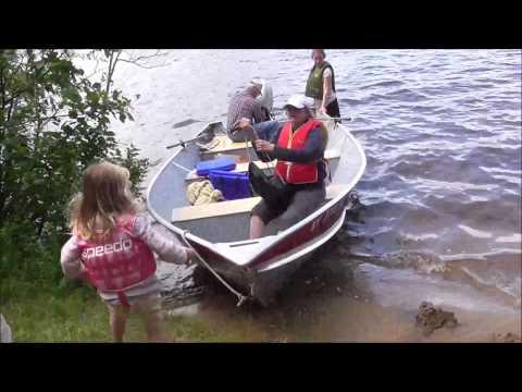 Adirondack Camping: Boating To Fish Creek Vlog 8-23-15
