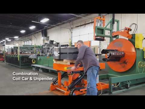 Heavy Gauge Coil Cut-To-Length & Punching System
