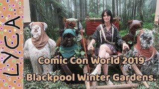 Comic com world 2019 blackpool winter gardens part 2