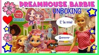 UNA CASA DI BARBIE a meno di 30 EURO!?! Unboxing Dreamhouse Lisciani by Lara e Babou