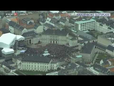 Queen Margrethe II 75th birthday celebrations, Amalienborg Palace (2015)