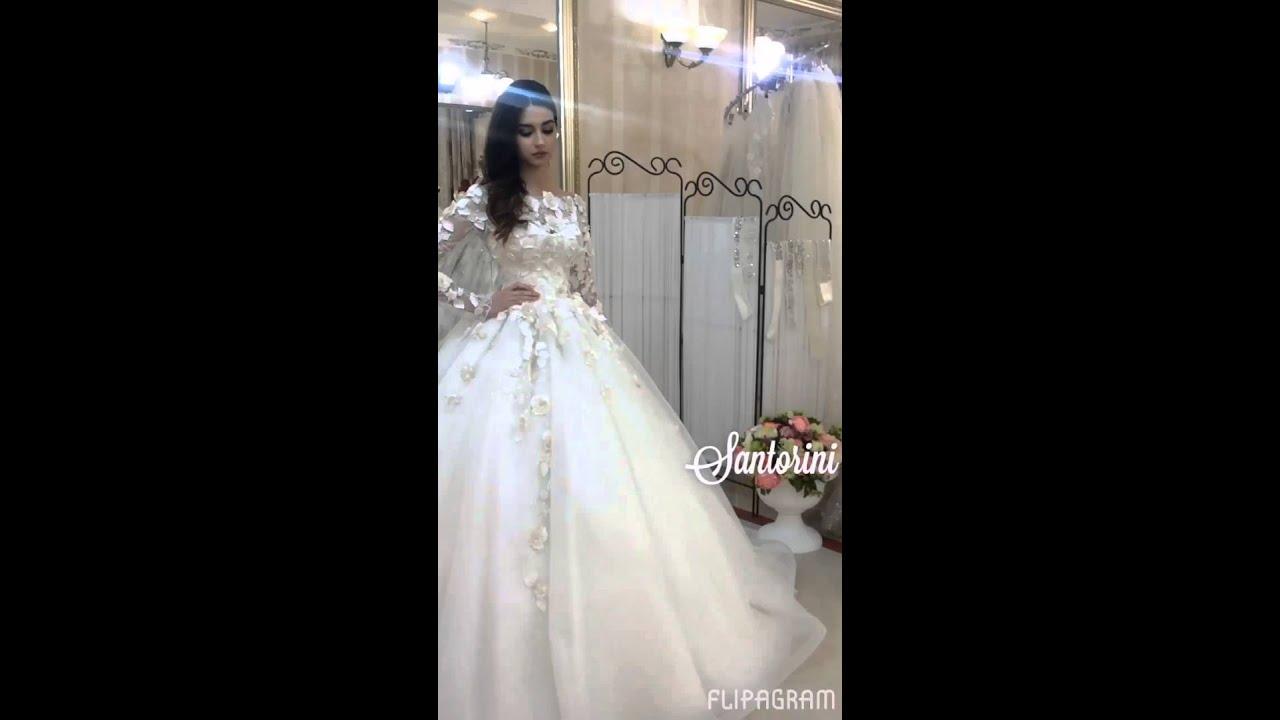 Санторини свадебные платья