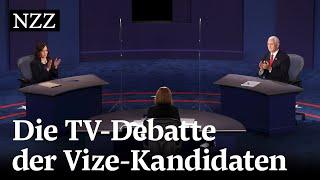 TV-Debatte: Harris und Pence