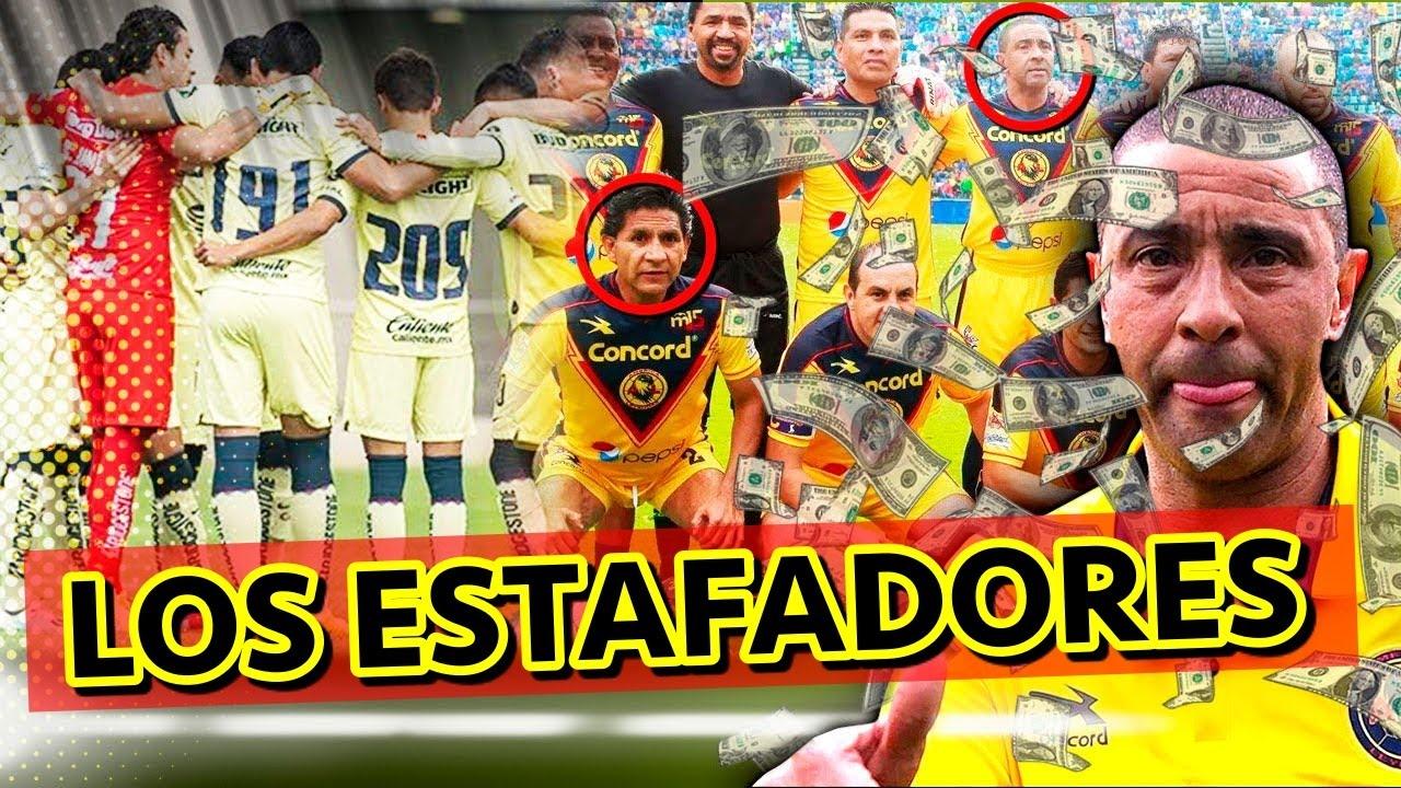 Las LEYENDAS Del AMÉRICA Que ESTAFARON A Jóvenes Futbolistas