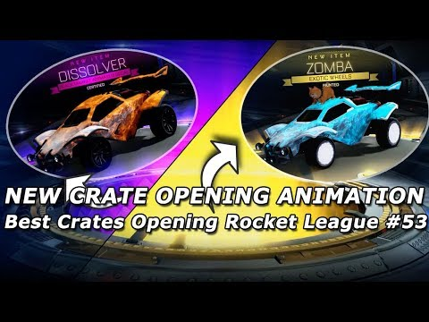 Best Crates Opening Rocket League #53 ( New Crate Opening Animation) thumbnail