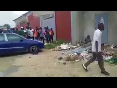 Download Pastor got beaten by a mad man when he attempted praying for him