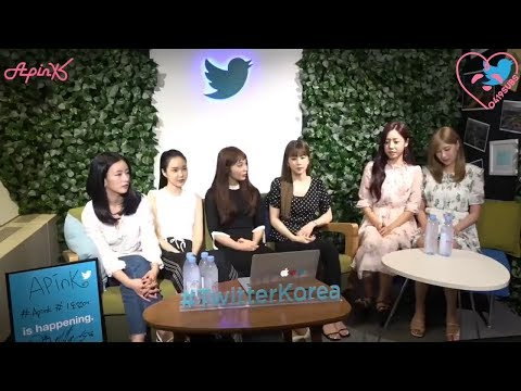 [0419SUBS] 180705 Apink #TwitterBlueroom LIVE Q&A! #1도없어