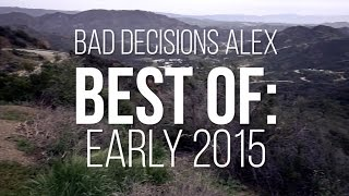 Skate[Slate].TV - Bad Decisions Alex Best of: Early 2015