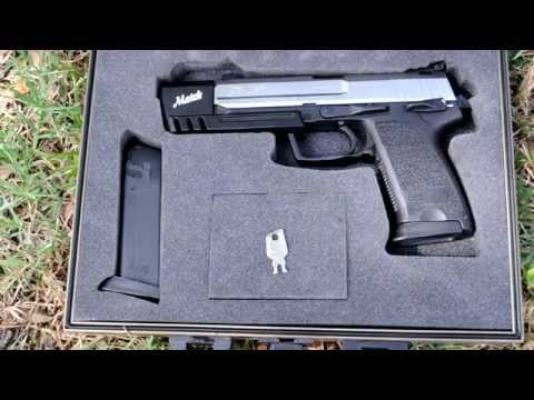 Shooting: HK USP Match 9mm - Yes, the Half-Life 2 gun