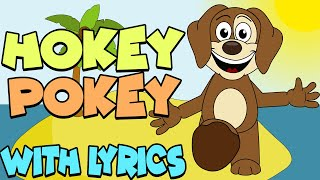 Hokey Pokey WITH LYRICS | Nursery Rhymes And Kids Songs