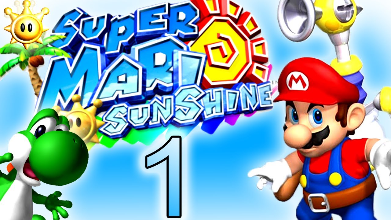 Lets Play Super Mario Sunshine Part 1 Sommer Sonne Strand Und