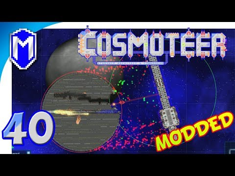 Cosmoteer - Death To The Death Star, Creative Mode - Let's Play Cosmoteer Star Wars Gameplay Ep 40