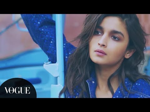 Catch Alia Bhatt behind the scenes at the Vogue India Feb 2017 cover shoot