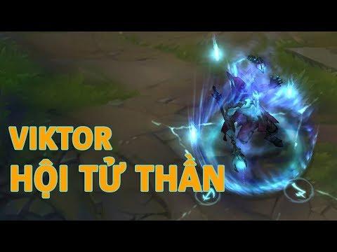 Trang phục mới Viktor Hội Tử Thần (Death Sworn Viktor) - Liên Minh Huyền Thoại