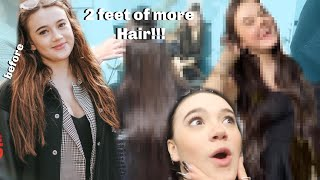 My $3000 Hair Extension Experience at LA Celebrity Salon! (Madison Beer, Taylor Swift, Selena Gomez)