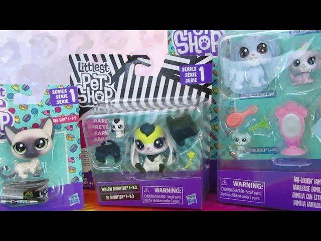 Series 1 Littlest Pet Shop Haul | LPS Unboxing from Walmart