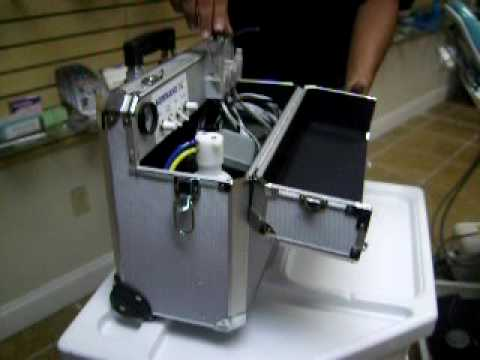 PORTABLE DENTAL UNIT MOBILE  THE LUXE  KOMMAND 3G  DENTAL MIAMI USA