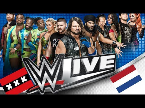 Day in a Life WWE Live Amsterdam 2018 Dutch Version