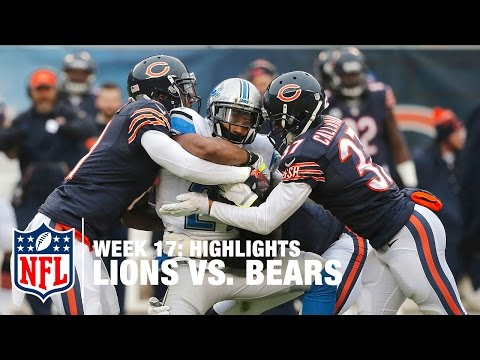 Lions vs. Bears | Week 17 Highlights | NFL