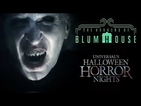 Horrors of Blumhouse House Reveal  Halloween Horror Nights 2017