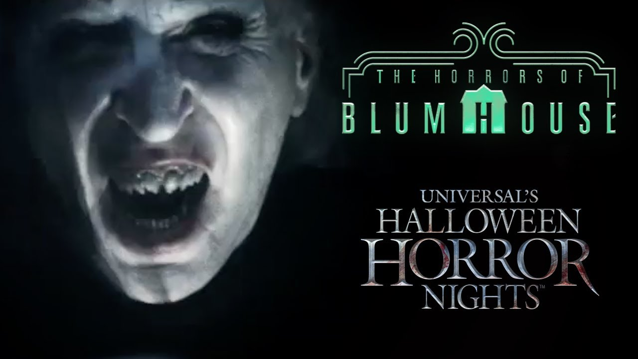 Horrors of Blumhouse House Reveal | Halloween Horror Nights 2017
