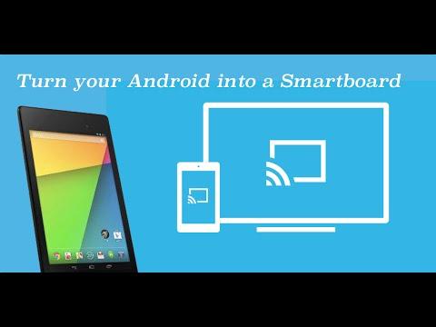 Interactive whiteboard smartboard