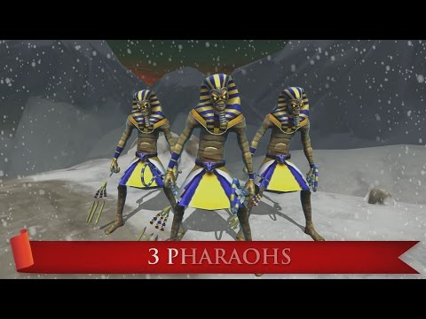Iron Maiden: Legacy of the Beast 12 Days of Christmas - 3 Pharaohs