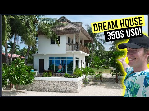 The Dream BEACH FRONT House (350$ USD Monthly) - Cebu Philippines