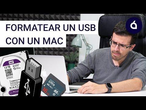 CÓMO FORMATEAR un USB / PEN DRIVE con un MAC para APPLE y/o WINDOWS | Los Tutoriales de Applesfera