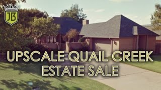 Upscale Quail Creek Country Club Estate Sale by James Bean Estate Sales