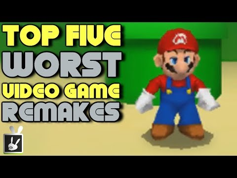 Top Five Worst Video Game Remakes