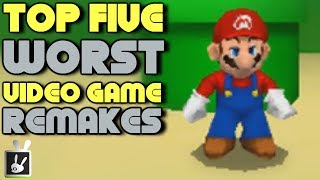 Top Five Worst Video Game Remakes