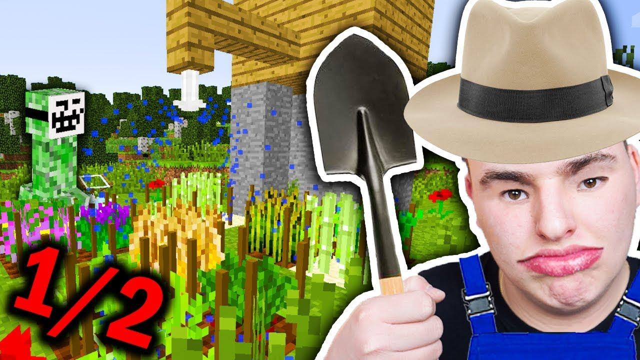 Minecraft Ogrodnik – ZOSTAŁE FARMEŁE XDXDXDXD #1/2