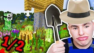 Minecraft Ogrodnik - ZOSTAŁE FARMEŁE XDXDXDXD #1/2