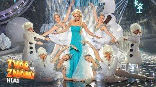 Markéta konvičková jako Elsa - Let it go I Tvoje tvář má známý hlas 2017