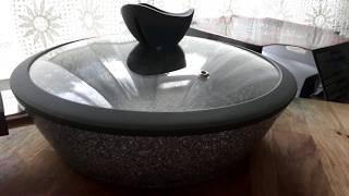 Обзор Сковороды из Магнита. Посуда со скидкой. Часть 1.