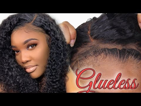 Truly Glueless Lace Frontal Wig Install No Gels Or Sprays