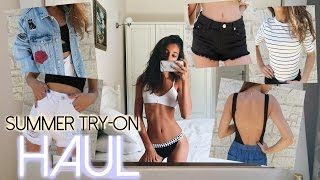 HUGE SUMMER TRY-ON HAUL!! | Nil Sani