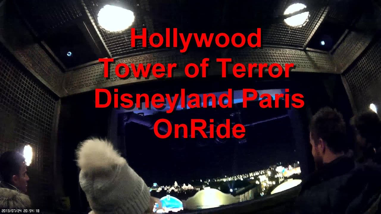 Hollywood Tower Of Terror Disneyland Paris Full Onride The