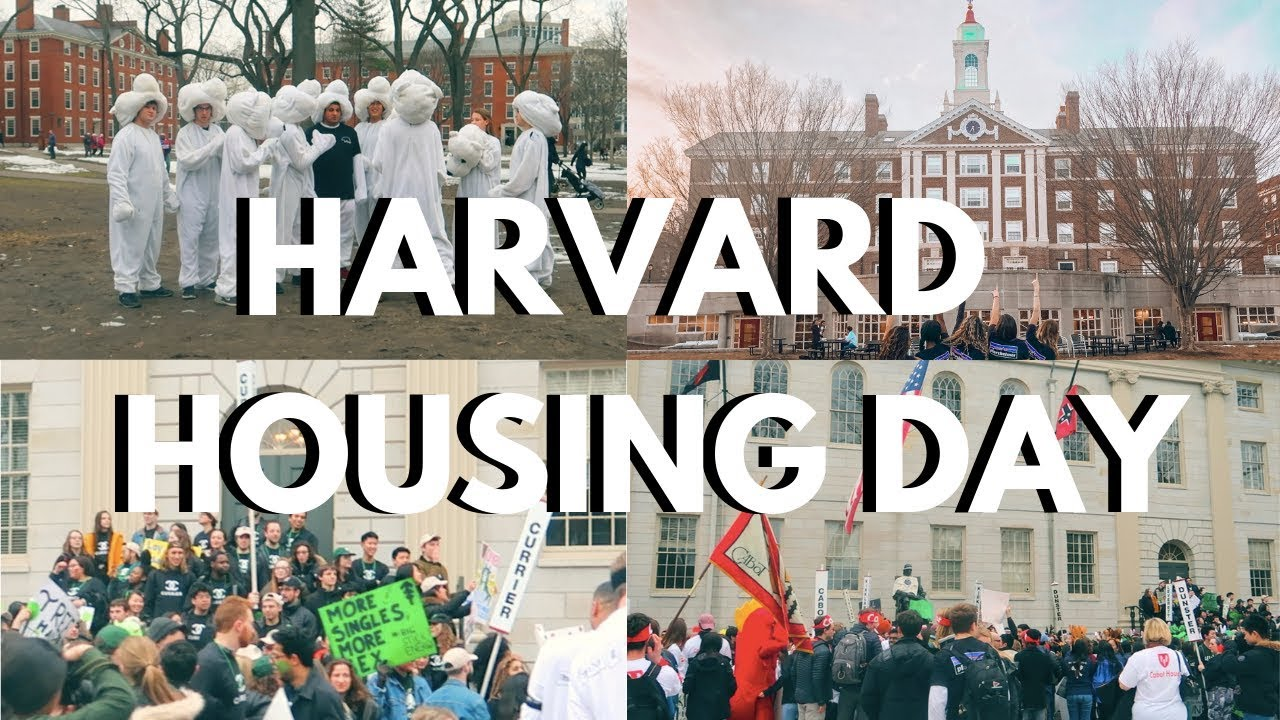 HARVARD HOUSING DAY 2019 vlog