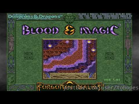 Blood & Magic - Sound Canvas music - 7056 - Realm of Fire